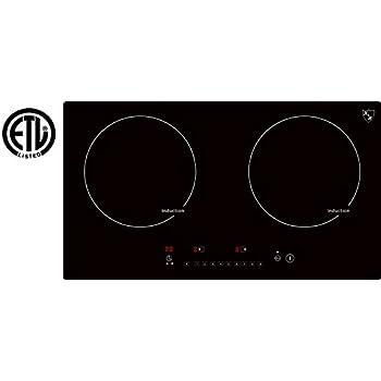 Amazon.com: K&H - Quemador de cocina doble (cerámica ...