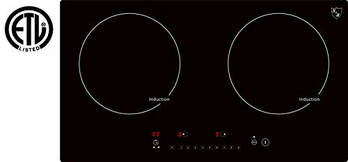 K&H INDH-3102Hx Double Burner Induction Cooktop