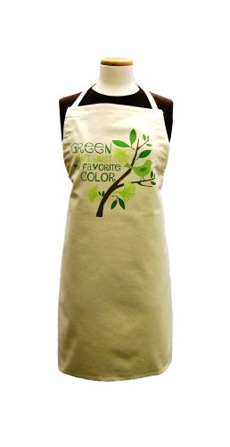 Ritz 100-Percent Recycled Adult Apron, Green Isn't Just My Favorite Color