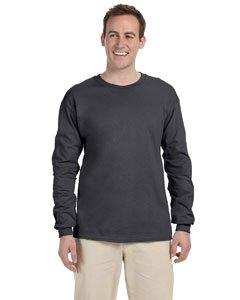 Gildan Ultra Cotton 6 Oz. Long-Sleeve T-Shirt (G240)- (X-large Grey T-shirt)