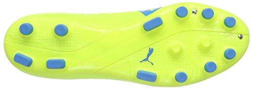 Puma Evospeed Sl-s Ag - Zapatillas de fútbol Hombre Amarillo - Gelb (safety yellow-atomic blue-white 01)