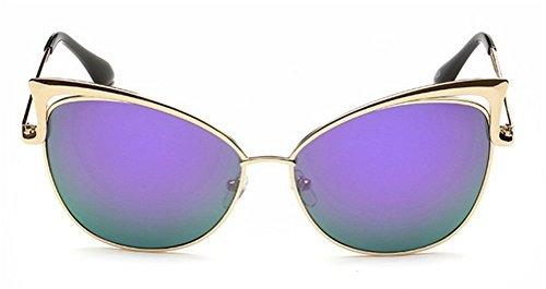 GAMT Women's Fashion Vintage Cat Eye Metal Frame Sunglasses UV400 - Wholesale Sunglasses Cheap Costa