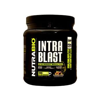 NutraBio Intra Blast Workout Muscle Fuel - Passion Fruit