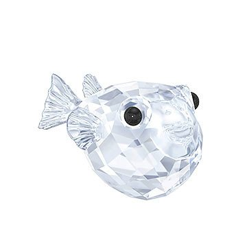 (Swarovski Crystal Blowfish Figurine 5282028)
