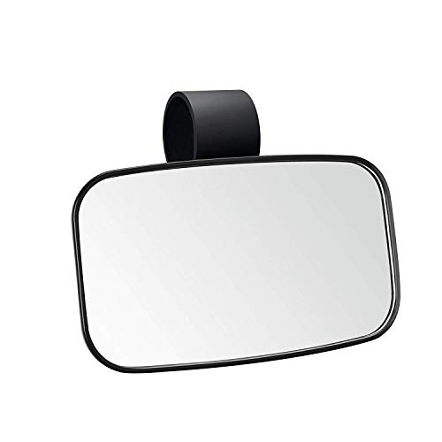 BETOOLL UTV Clear Rear View Center Mirror - High Impact ABS Housing with Shatter-Proof Tempered Glass Mirrors