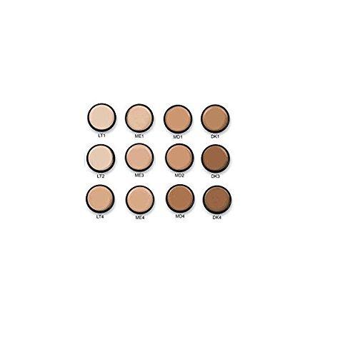 Mehron Makeup Celebre Pro-HD Cream Face & Body Makeup, 12 Color Foundation Palette