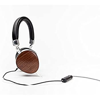 EVEN EarPrint H1 Headphones that Adapt to the Way You Hear - with Mic (Walnut and Steel)