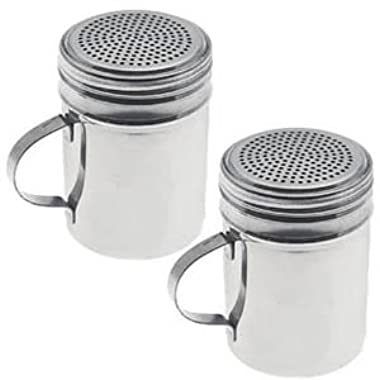 Dozenegg Stainless Steel Versatile Dredge Shaker, Set of 2