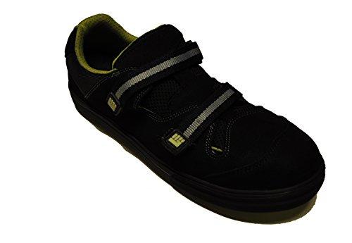 2work4 Sicherheitsschuh Moose Sandale Klettverschluß S1P Sneaker