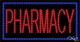 Pharmacy LED Sign (High Impact, Energy Efficient)