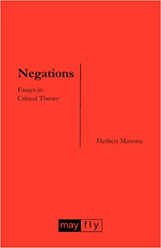 Negations: Essays in Critical Theory, Marcuse, Herbert