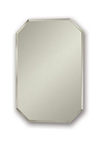 Jensen 1454X Octagon Bevel Mirror Medicine Cabinet, 18'' x 27'' by Jensen