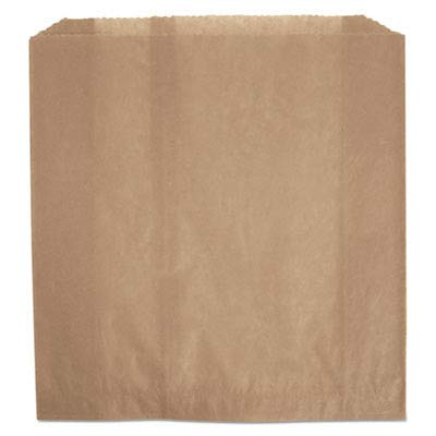 (RCP6141 - Wax-Coated Sanitary Napkin Bags, Brown, 9 3/4w X 3 3/4d X 9 7/8h)