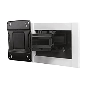 OmniMount OE120IW Recessed in-Wall Full Motion Articulating TV Mount for Most 42-80 Inch TVs, Easy Install and Hides…