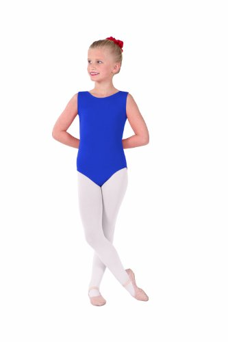 Royal Blue Leotard (Eurotard 1089 Child Fully Lined Front Tank Leotard,Royal,Medium)