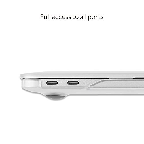 Moshi 99MO071006 iGlaze Hard Case for 2018 New MacBook Pro Retina 15'' & Thunderbolt 3 with Touch Bar, Stealth Black by Moshi (Image #6)