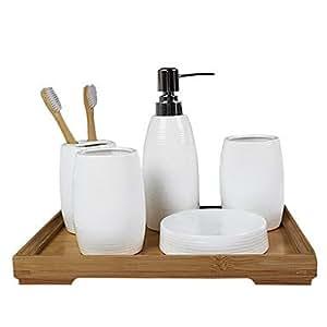 Dee accesorios de ba o conjunto kits tradicionales bains - Accesorios de bano amazon ...