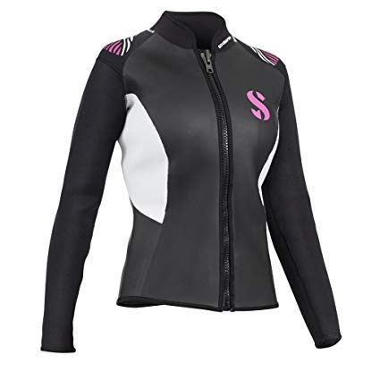 SCUBAPRO Bolero Hybrid Long Sleeve Front-Zip Vest 3mm Womens by SCUBAPRO