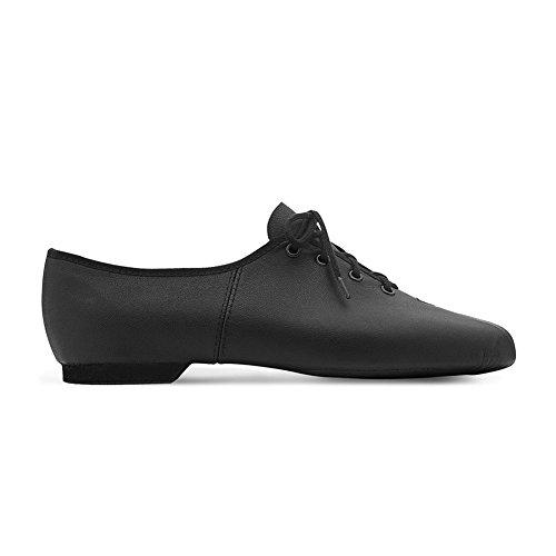 Bloch Women's Dance Now Split Sole Lea Jazz Shoes, Black Leather, 7 M Lea Adult Black Shoes