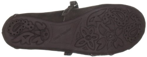 Sopily - Scarpe da Moda scarpe decollete Mary Jane Stiletto alla caviglia donna fiori 11 CM - Marrone
