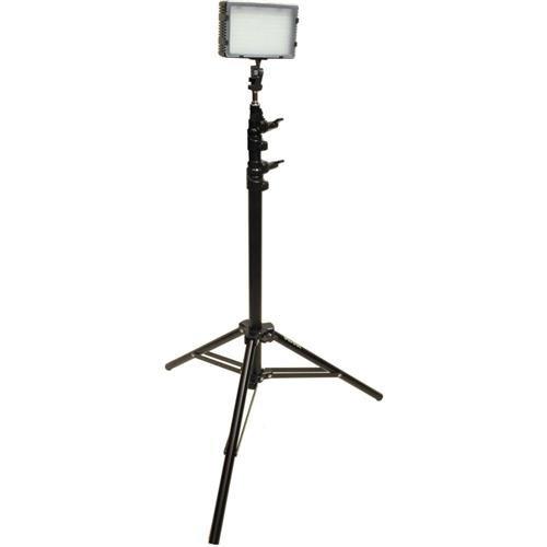 Bescor Field Pro FP-180S Bi-Colored Single LED Studio Lighting Kit, Includes FP-180 Bi-Color LED Light, LS-180 Light Stand, AC-12V2 Power Supply Bescor Led