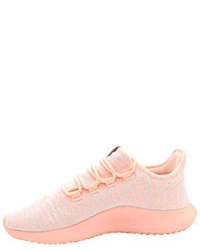 Image of adidas Originals Kids Girl's Tubular Shadow J (Big Kid) Clear Orange/White/Light Pink 4.5 M US Big Kid
