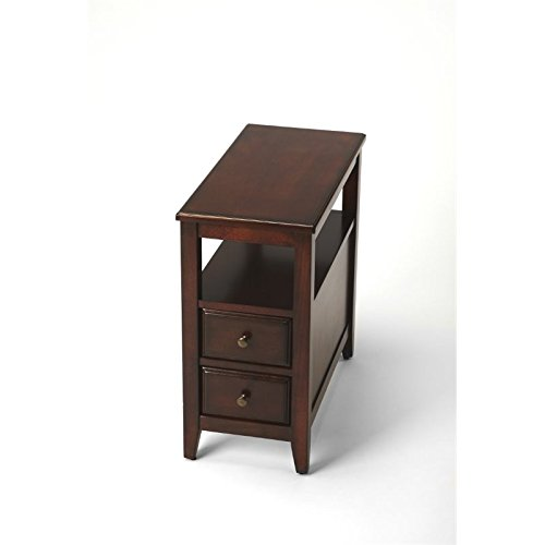 Plantation Cherry End Table - Butler specality company BUTLER 6191024 MARCUS PLANTATION CHERRY CHAIRSIDE TABLE
