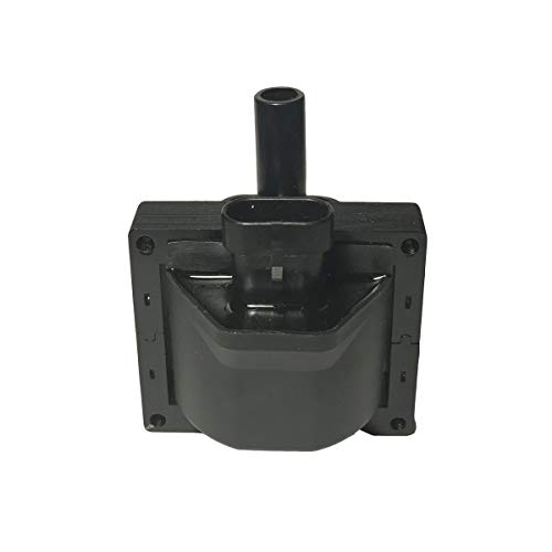 Ignition Coil - Replaces GM #10489421 & ACDelco # D577 - Fits Chevrolet, GMC, Cadillac V6 & V8 - Ignition Coil for 2000 Chevy Silverado and more (Renewed)