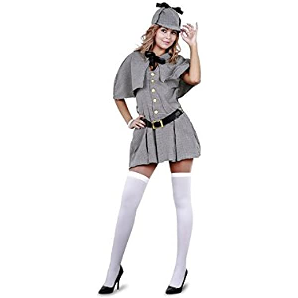 Disfraz de Sherlock Holmes Mujer - Mujer, M: Amazon.es: Juguetes y ...