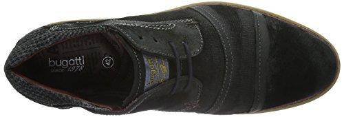 Bugatti 312169033400, Zapatos de Cordones Derby para Hombre Negro (schwarz 1000schwarz 1000)