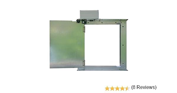 AGRIMATIC Puerta de gallinero automática. Modelo 180º.: Amazon.es ...