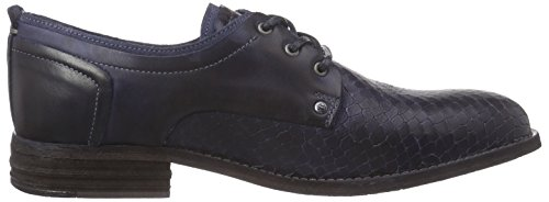 Yellow Cab Fact M - Zapatos Derby Hombre Azul - azul (dark blue)