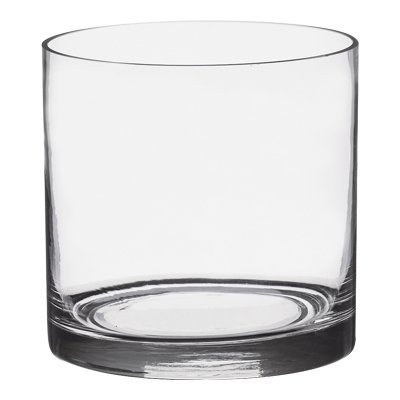 5-Inch Round Glass Vase Bowl - 5