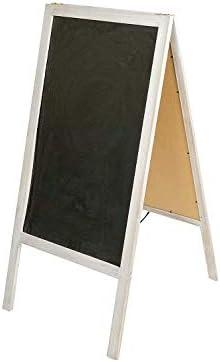Noir Ardoise en Bois d/écoration Unique pour f/ête///év/ènement 106,5 x 4 x 51 cm Clever Creations id/éal pour annonces sp/éciales