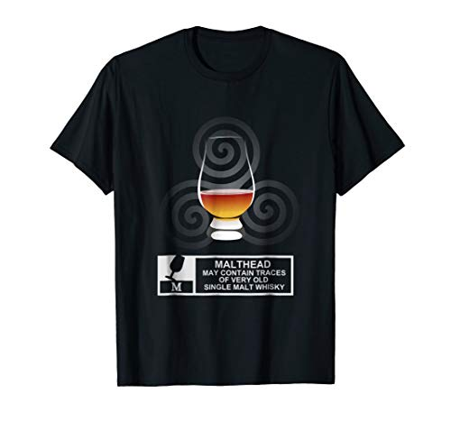 Cool Single Malt Whisky Design T-Shirt