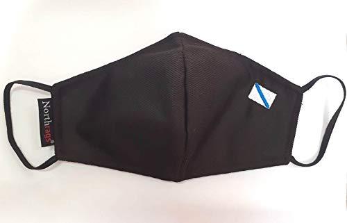 Mascarilla con bandera de Galicia Lavable y Reutilizable 100% Poliester, Micro-fibra Pack 5: Amazon.es: Industria, empresas y ciencia