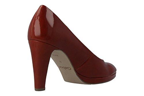 bbb381f0e06f GABOR Damen Pumps Lack Orange Schuhe in Übergrößen -acv1887-augsburg.de