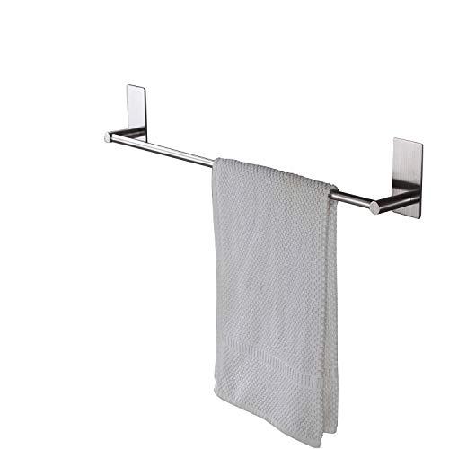 Taozun Towel Bar Self Adhesive 27.55-Inch Bathroom Brushed S
