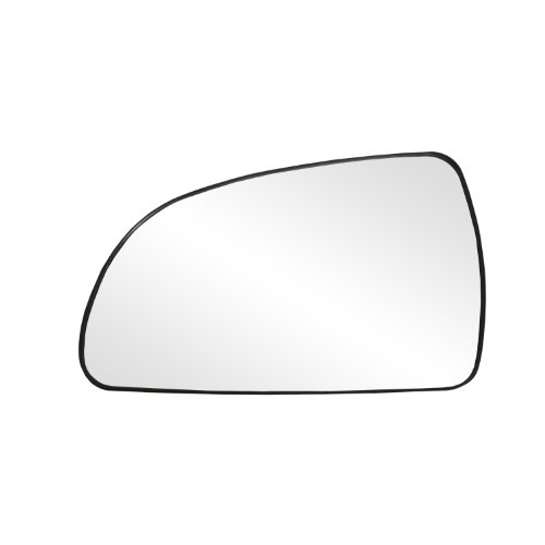 Fit System 33160 Hyundai Sonata Left Side Heated Power Replacement Mirror Glass with Backing Plate ()