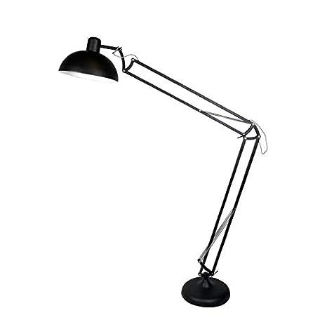 KOLOSS - Lámpara de pie articulada XXL, metal, altura 230 cm ...