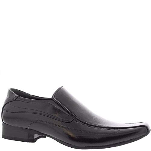 Alberto Fellini Mens Slip On Bike Toe Dress Loafers