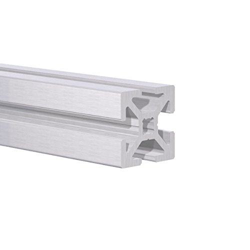 Quad Aluminum - 25MM Slotted Aluminum Tracks - Multi-Purpose Quad Track (4ft Length)