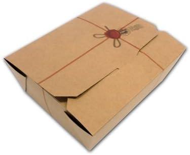Caja de comida mediana de cartón alimentario genérico, caja ...
