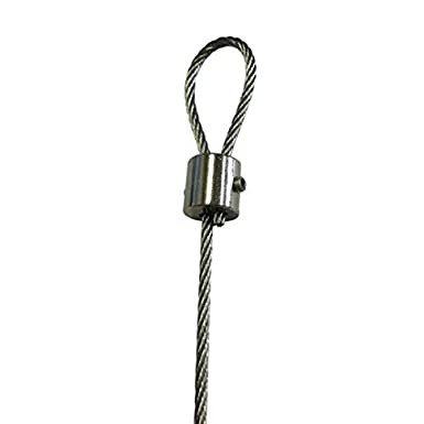 Steel Wire Rope clamp grip wire eye 1MM Wire Grip