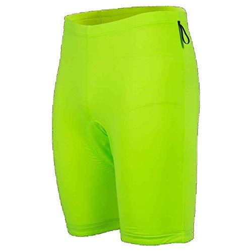 Canari Men's Atlas Gel Baggy Shorts, Slate/Killer Yellow, -