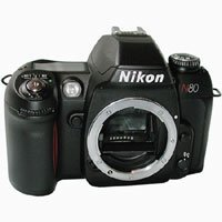 NIKON N80 QD 35mm SLR Camera Body -Requires Lens- by Nikon