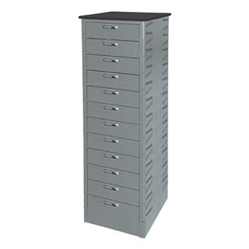 TekStak Laptop Storage Cabinet W/ Electronic Lock   12 Laptop Capacity