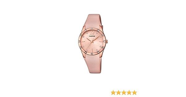 Calypso Reloj Análogo clásico para Mujer de Cuarzo con Correa en Plástico K5714/5: Calypso: Amazon.es: Relojes