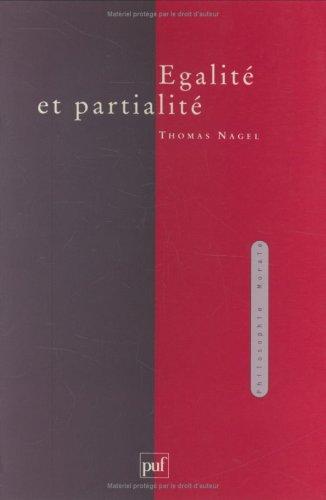 Égalité et partialité Broché – 1 janvier 1994 Thomas Nagel 2130458912 9782130458913_DMEDIA_US Histoire et Sciences humaines