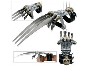 PK-6315 Skull & Bones pokqm1n6kx Gauntlet Style Hand Claws fix knife steel sharp g5d719w7nu0 edge blade pocket